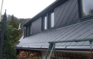 Střecha po rekonstrukci a opravě