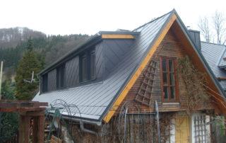 Střecha po rekonstrukci