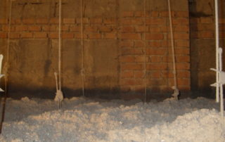 foukaná izolace v podkroví
